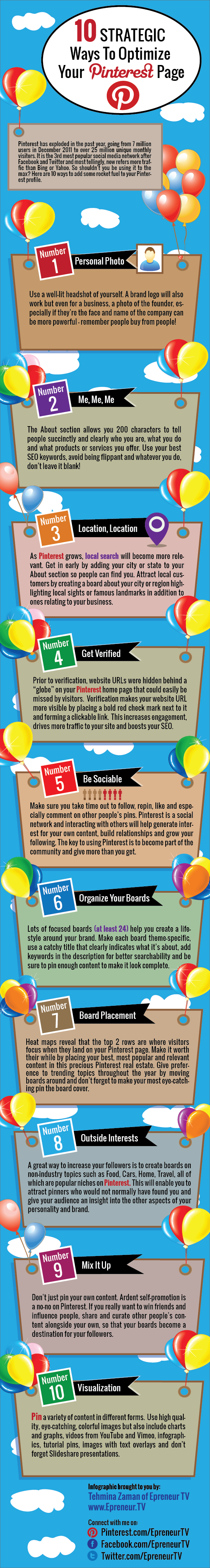 10 Ways to Optimize Your Pinterest Page resized 600