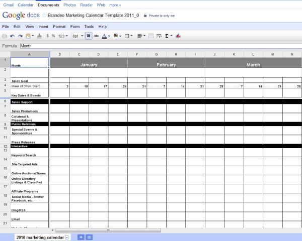 Brandeo Marketing Calendar Template 2011 resized 600